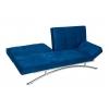 Banquette convertible bleu