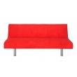 canapé-lit rouge
